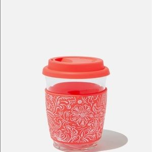 TYPO All Day Travel Cup 12 oz. glass silicone lid